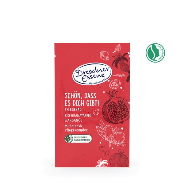 Naturkosmetik Badesalz Granatapfel