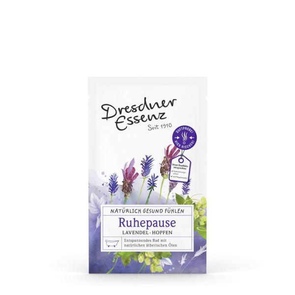Gesundheitsbad Ruhepause mit Lavendel und Hopfen
