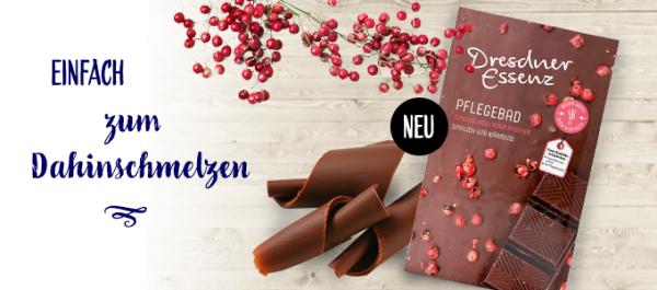 Pflegebad-Schokolade
