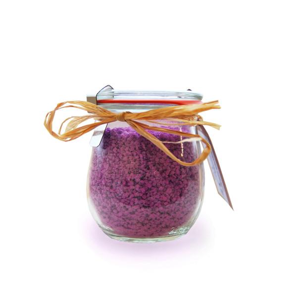 Badekristalle Dunkle Beeren aus der Dresdner Essenz Manufaktur